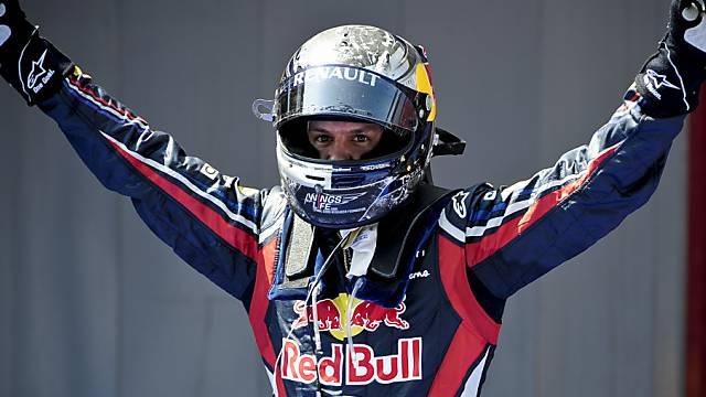 Sebastian Vettel triumphierte bereits zum vierten Mal