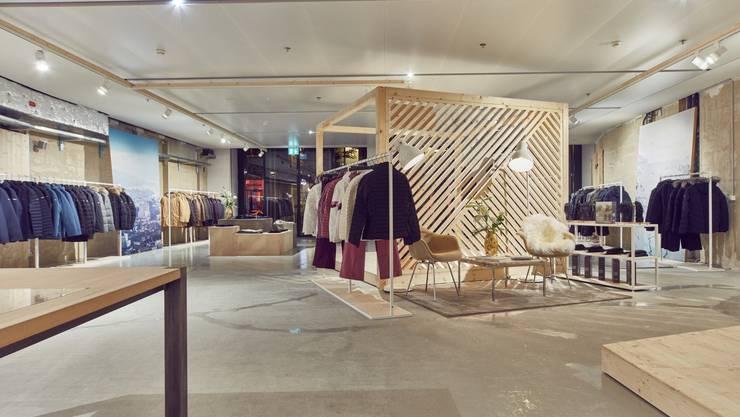 Pop-up-Store in Zürich: Bald sollen Kunden bei Kjus auf Mass einkaufen können.