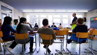 Eine Schulklasse im Kanton St. Gallen (Archiv)