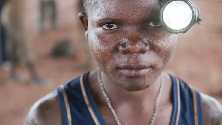 Kinderarbeit in Kongo: Hier in der Provinz Katanga.