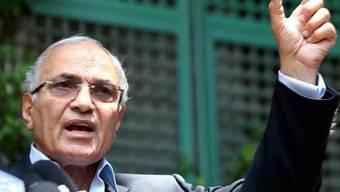 Wird bei der bevorstehenden Präsidentenwahl nicht antreten: Ägyptens früherer Premier Ahmed Schafik. (Archiv)