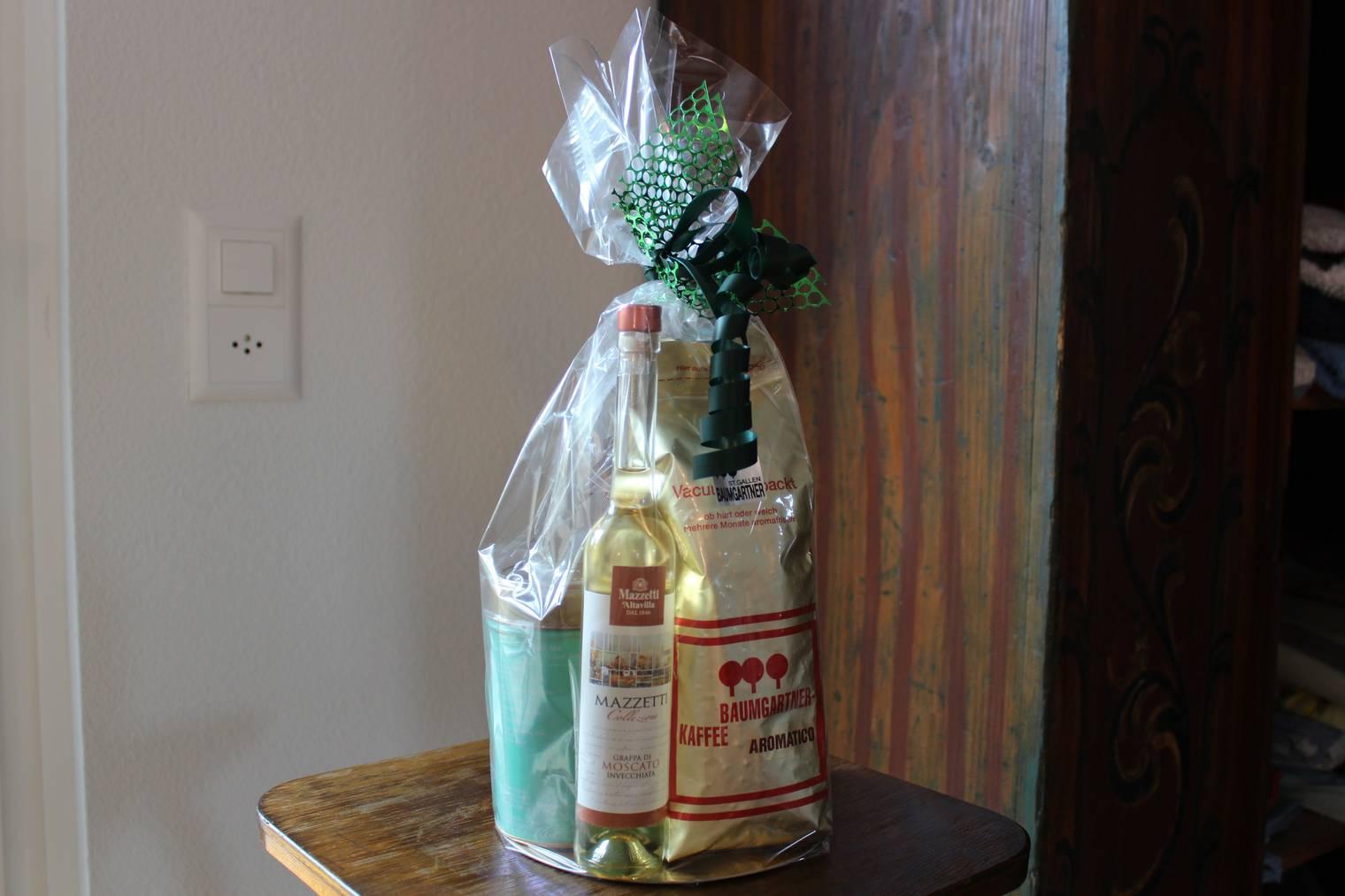 Dieses Geschenk wartet sehnlichst auf die Mutter und die Tochter, die Barbara Sprenger nach St.Gallen brachten. (Bild: FM1Today)