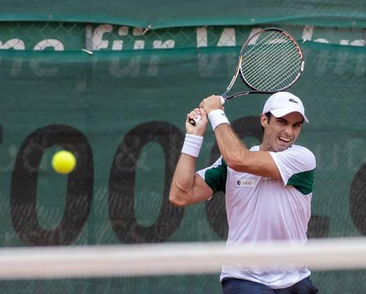 Die Verpflichtung des Spaniers Pablo Andujar, aktuell auf Platz 53 der ATP-Rangliste, hat sich für den TC Froburg Trimbach gelohnt.