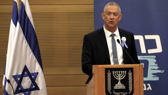 Benny Gantz hat in Israel den Regierungsauftrag erhalten.