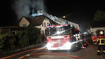 Brand in Niederlenz