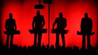 Die Kraftwerk-Bandmitglieder (Archiv)