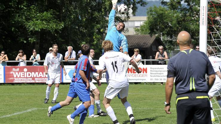 Der FC Engstringen würde künftig gerne auch auf einem Kunstrasen spielen. Gerry Frei