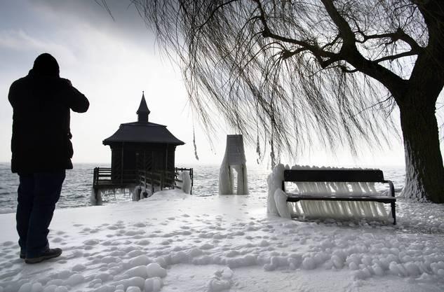 Eisig! Die sibirische Kältepeitsche verwandelte die Schweiz im Februar 2018 in eine Tiefkühltruhe.