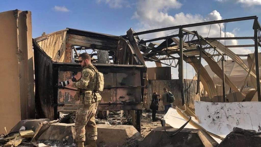Elf Soldaten bei iranischem Angriff im Irak verletzt