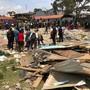 Beim Einsturz einer Schule in Kenia sind sieben Kinder ums Leben gekommen und Dutzende weitere verletzt worden. Das Gebäude war aus billigsten Materialien erstellt worden.