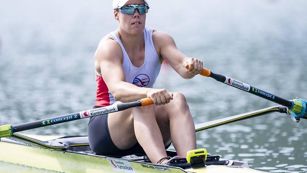 Jeannine Gmelin bestreitet in Luzern ihren letzten Wettkampf vor den Olympischen Spielen in Tokio