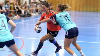 Im Spiel gegen den HV Herzogenbuchsee konnten die Leimentalerinnen den ersten Punkt für sich verbuchen.