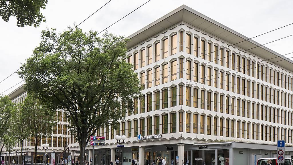 Der Hauptsitz der Luzerner Kantonalbank. Die Staatsbank ist gut in das Jahr gestartet. (Archivaufnahme)