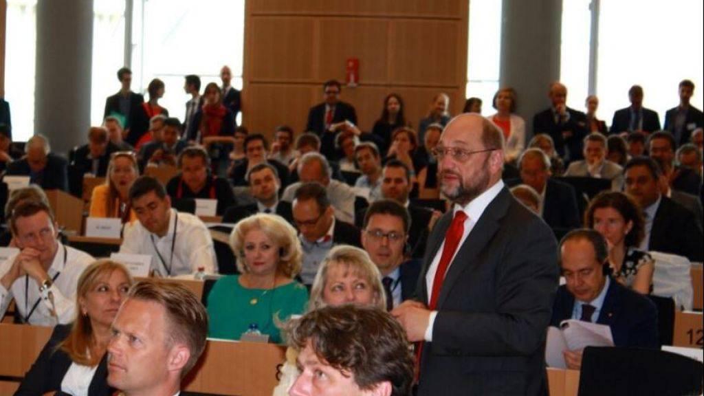 Martin Schulz, scheidender Präsident des Europaparlaments, will Mitspracherecht für sein Gremium in den Brexit-Verhandlungen. (Bild: Twitter)