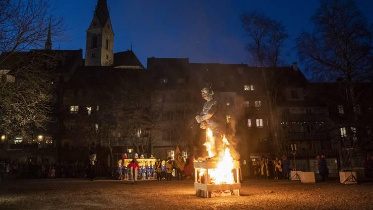 Der brennende Füdlibürger: In welcher Form die Badener Fasnacht 2021 stattfindet, ist noch unklar.