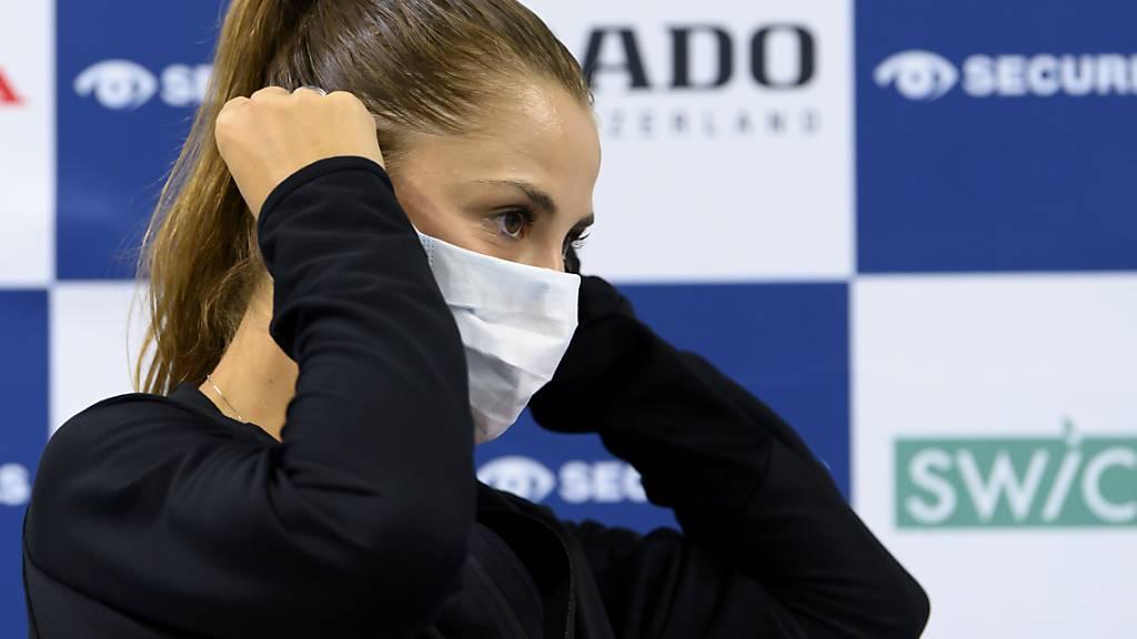 Belinda Bencic hatte Pech: Im Flieger von Abu Dhabi nach Melbourne befand sich eine corona-infizierte Person