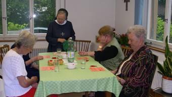 Pro Tag können in der Tagesstätte für Betagte in Frick acht Personen betreut  werden.