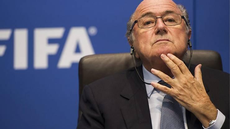 Macht sich Gedanken und bedauert, nicht früher zurückgetreten zu sein: der aktuell suspendierte Noch-FIFA-Präsident Sepp Blatter
