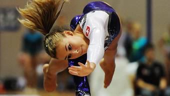Giulia Steingruber holte sich auf souveräne Art und Weise den Mehrkampf-Titel