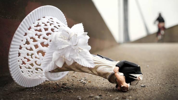 Scheidungen können ein hässliches Ende nehmen, wie dieser Gerichtsfall zeigt. (Symbolbild)