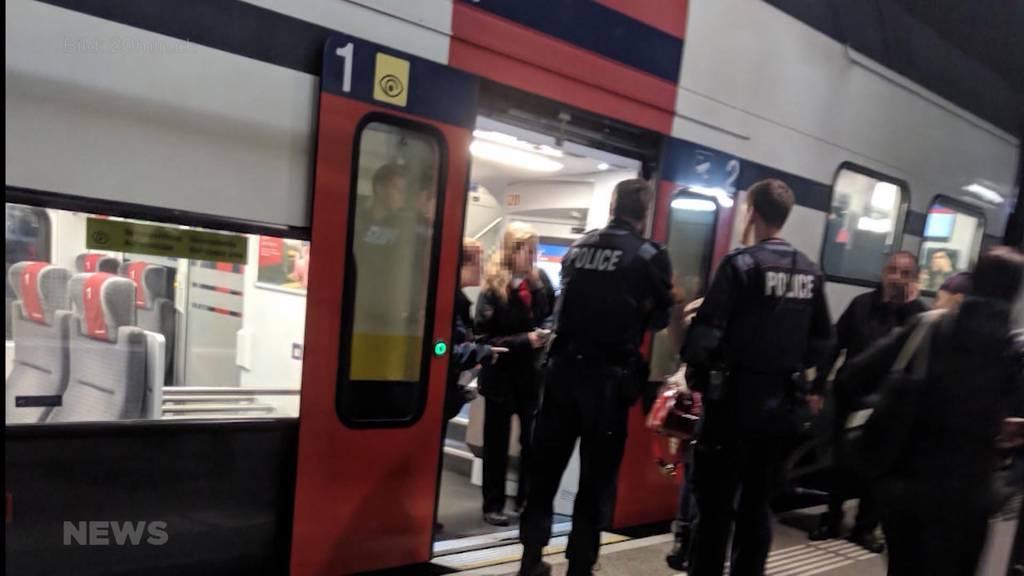 Quarantäne im Zug wegen Tuberkulose-Verdacht