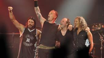 Metallica schenkten Jakarta-Gouverneur eine Gitarre (Archiv)