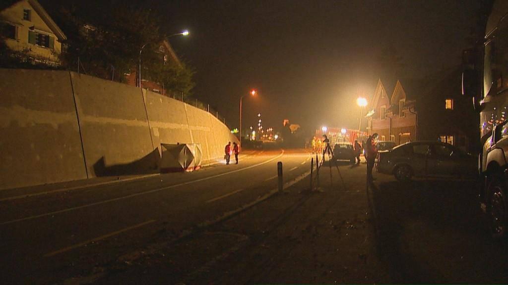 Tödlicher Unfall in Nesslau-Krummenau (© BRK News/Beat Kälin)