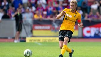 Hat das Auge für eine kluge Angriffsauslösung: Fabian Lustenberger, Innenverteidiger der Young Boys.