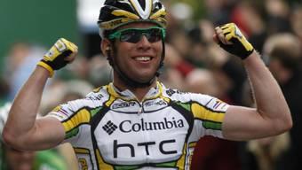 Mark Cavendish liess im Sprint in Fribourg nichts anbrennen