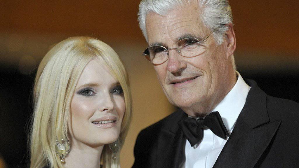 Der Schauspieler Sky du Mont und seine Frau Mirja haben sich nach 16 Ehejahren getrennt (Archiv)