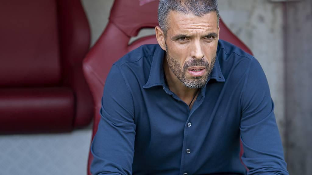 Luzerns Trainer Fabio Celistini traute in Genf wohl manchmal seinen Augen nicht