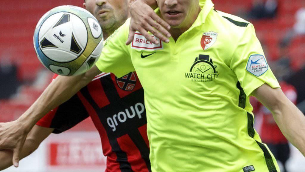 Thomas Fekete (rechts) verteidigt in Zukunft für den FC Vaduz