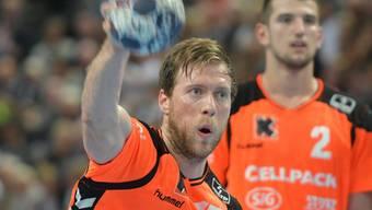 Gabor Csaszar führte die Kadetten mit acht Treffern zum Auswärtssieg gegen Suhr Aarau