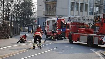 Brand in Mehrfamilienhaus in Biel