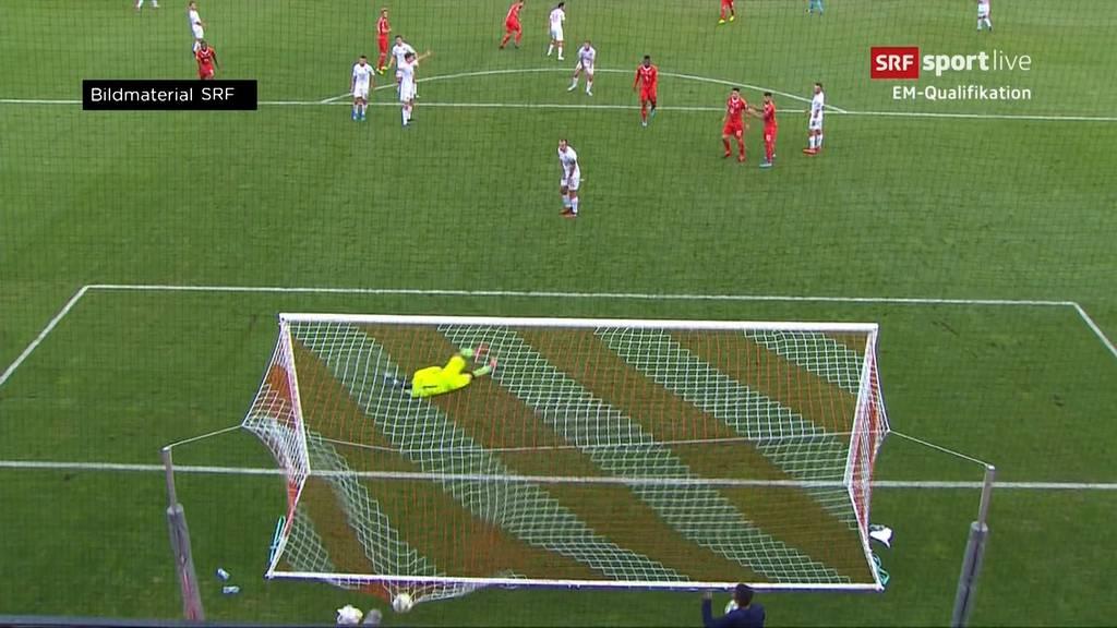 EM-Quali: Schweiz schlägt Gibraltar 4:0