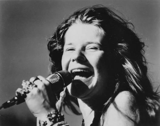 Janis Joplin: Gestorben am 4. Oktober 1970. Eine der bekanntesten Rocksängerinnen ihrer Zeit. Todesursache war eine Überdosis Heroin.