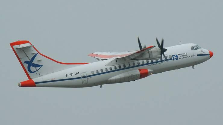 Kalibrierungsflugsflugzeug der französichen Luftfahrtbehörden