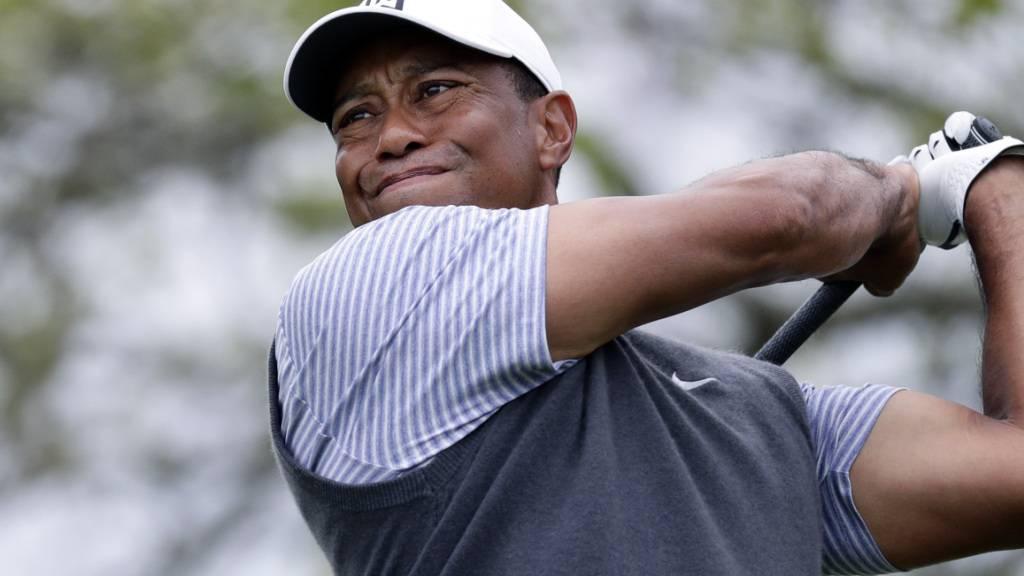 Zähe Reha: Comeback von Tiger Woods noch weit entfernt