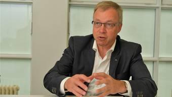 Hansjörg Stöckli Präsident der Solothurner Handelskammer