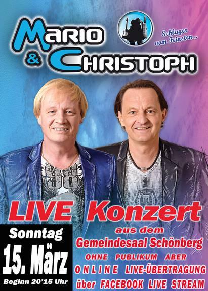 Mario und Christoph - Online LIVE Konzert