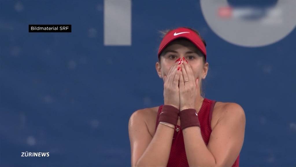 Belinda Bencic sicherte sich heute gleich zwei Olympia-Medaillen