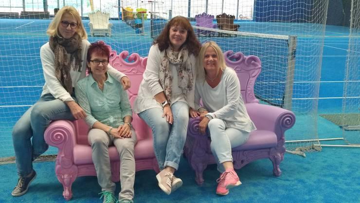 Bildlegende: (v.l.n.r.) Regula Bisig, Katharina Schöni, Carmen Hunkeler und Karin Bürig