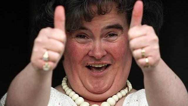 Susan Boyle erhält Hilfe von Paris