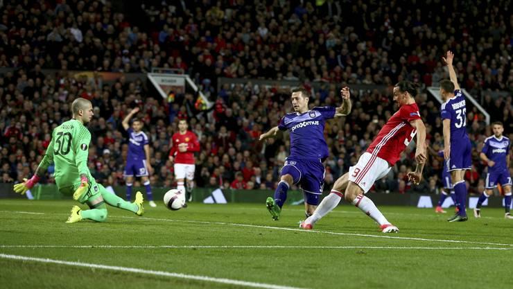 So verlief das Champions League-Spiel Manchester United gegen Anderlecht