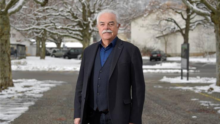 Erwin Fischer, Präsident des Grenchner Handels- und Industrieverbandes.
