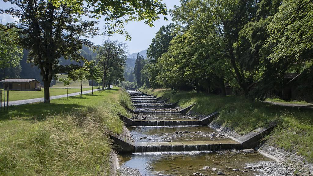 Kanton Obwalden beteiligt sich am Hochwasserschutz in Alpnach
