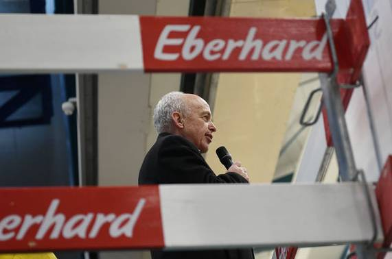 Ueli Maurer am Wahlkampfauftakt der SVP Zürich am letzten Samstag.