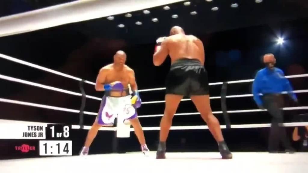 Comeback-Kampf: Mike Tyson und Roy Jones Jr. trennen sich mit Unentschieden