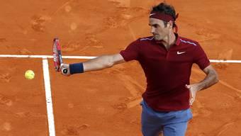 Roger Federer schlägt in Monte Carlo den Spanier Roberto Bautista Agut und steht im Viertelfinal.
