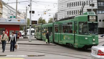 Lockdown bremste Verkehr in Basel stark ab. (Archivbild)